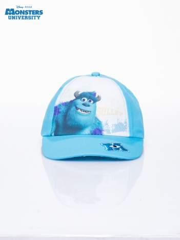 Turkusowa chłopięca czapka z daszkiem UNIWERSYTET POTWORNY