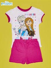 Biała piżama dla dziewczynki KRAINA LODU