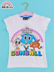 Biały t-shirt chłopięcy GUMBALL