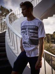 Biały t-shirt męski LOONEY TUNES