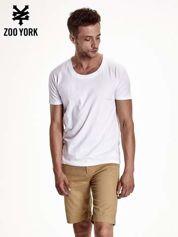 Biały t-shirt męski basic
