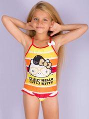 Czerwony strój kąpielowy dla dziewczynki HELLO KITTY