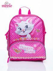 Różowy plecak szkolny DISNEY kotka Marie