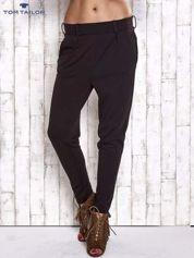TOM TAILOR Czarne lejące spodnie