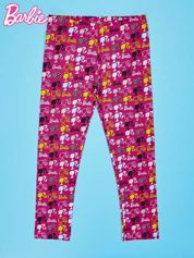 Wielokolorowe legginsy dla dziewczynki BARBIE