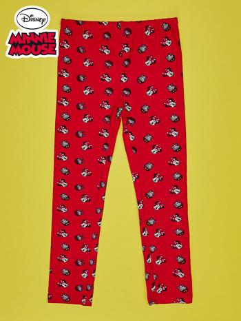Czerwone legginsy dla dziewczynki MINNIE MOUSE