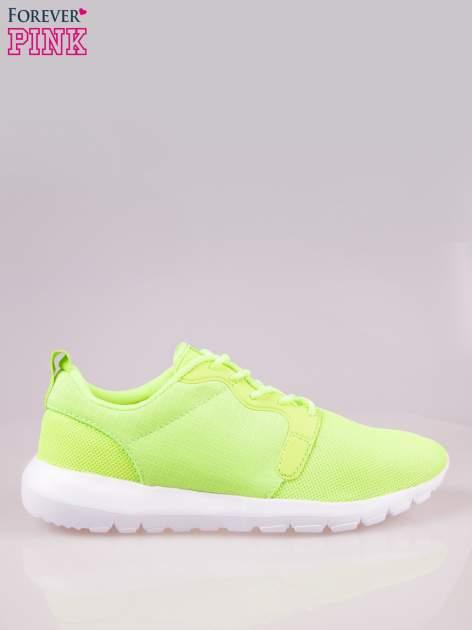 Fluozielone buty sportowe damskie