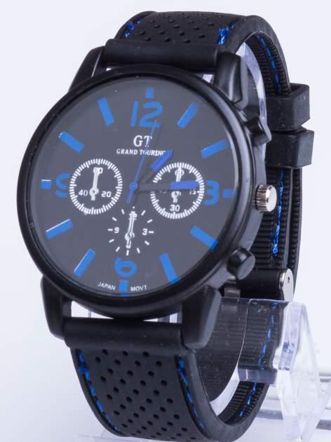 GT Świetny sportowy zegarek na wygodnym silikonowym pasku
