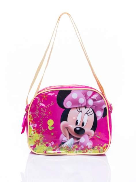 Różowa torba szkolna DISNEY Myszka Minnie
