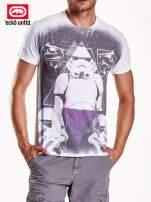 Biały t-shirt męski nadruk Star Wars