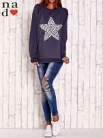 Grafitowa bluza z gwiazdą