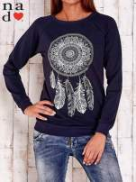 Granatowa bluza z łapaczem snów