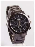 Nowoczesny męski zegarek z ozdobnym chronografem