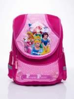 Różowy plecak dla dziewczynki DISNEY z księżniczkami