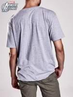 Szary t-shirt męski AVENGERS