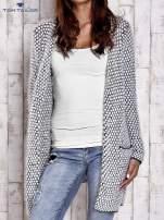 TOM TAILOR Biały wełniany puszysty sweter