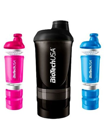 BioTech USA Shaker 600 ml kolor niebieski