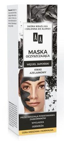 AA CARBON&CLAY Maska węglowa oczyszczająca 30 ml
