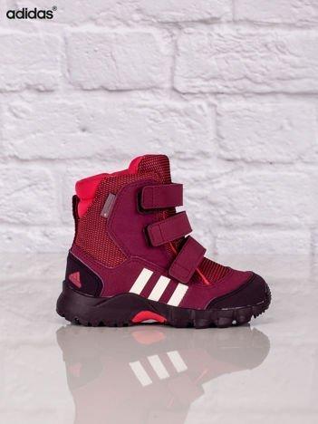 ADIDAS Różowe buty zimowe dziecięce CW Holtanna Snow CF I