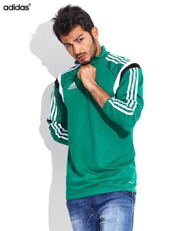 ADIDAS Zielona bluza męska LIC TRG TOP Climacool z logo