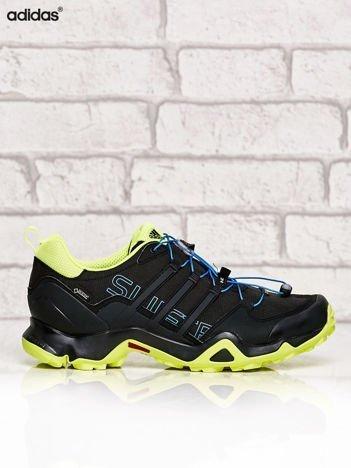 ADIDAS czarne buty męskie z kontrastowymi elementami