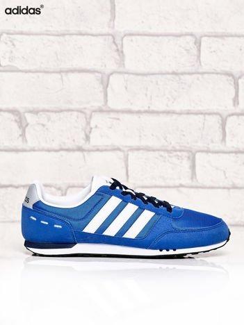 ADIDAS niebieskie buty męskie sportowe miejskie