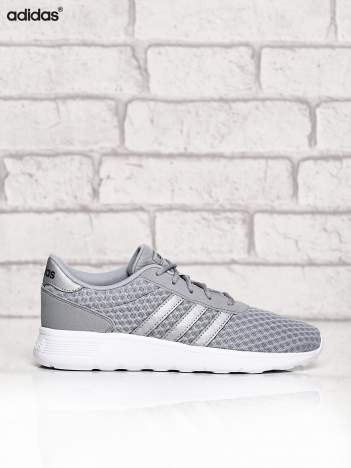 ADIDAS srebrne buty sportowe LITE RACER W ze wzorem