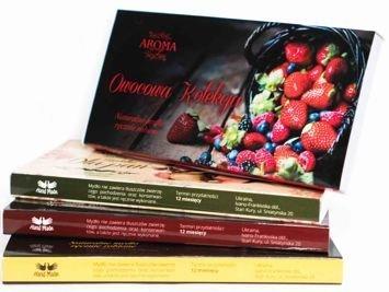 AROMA Soap Zestaw prezentowy 3 naturalne mydełka OWOCOWA KOLEKCJA 3 x 50 g
