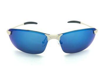 ASPEZO Okulary przeciwsłoneczne damskie POLARYZACYJNE niebieskie DAYTONA Etui skórzane, etui miękkie oraz ściereczka z mikrofibry w zestawie