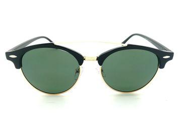 ASPEZO Okulary przeciwsłoneczne damskie POLARYZACYJNE zielone DUBAI Etui skórzane, etui miękkie oraz ściereczka z mikrofibry w zestawie