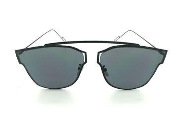 ASPEZO Okulary przeciwsłoneczne damskie czarne HAWAII. Etui skórzane, etui miękkie oraz ściereczka z mikrofibry w zestawie