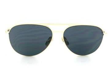 ASPEZO Okulary przeciwsłoneczne damskie czarno-złote BARCELONA. Etui skórzane, etui miękkie oraz ściereczka z mikrofibry w zestawie