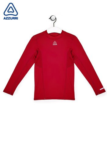 AZZURI Czerwona sportowa bluzka chłopięca
