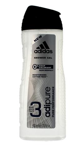 "Adidas Men Adipure Żel pod prysznic 3w1  400ml"""