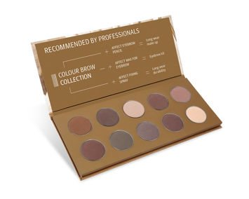 Affect Paleta COLOUR BROW COLLECTION 18 g