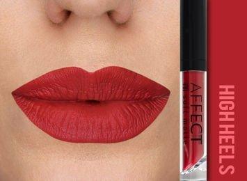 Affect Pomadka w płynie Liquid Lipstick Soft Matte High Heels 5 ml