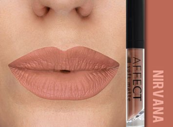 Affect Pomadka w płynie Liquid Lipstick Soft Matte Nirvana 5 ml