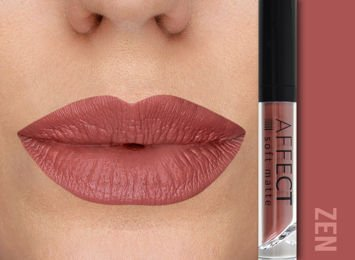 Affect Pomadka w płynie Liquid Lipstick Soft Matte Zen 5 ml