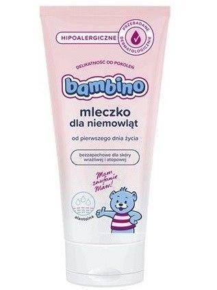 BAMBINO Mleczko dla niemowląt bezzapachowe hipoalergiczne 200 ml
