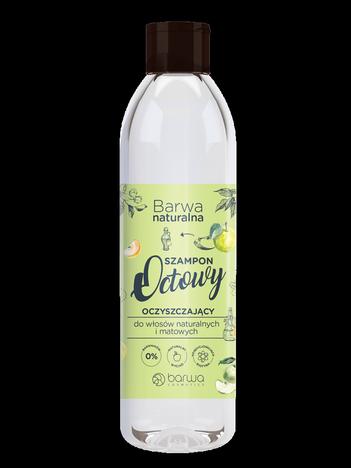 BARWA Naturalna Szampon do włosów octowy oczyszczający - włosy matowe 300 ml