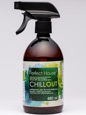 BARWA Perfect House Chillout Profesjonalny Płyn do mycia balkonów, tarasów i mebli ogrodowych 480 ml