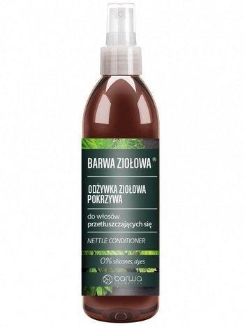 BARWA Ziołowa Odżywka do włosów Pokrzywa - włosy przetłuszczające się 250 ml