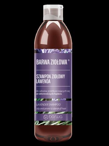 BARWA Ziołowa Szampon do włosów Lawenda - włosy przetłuszczające się i z łupieżem 250 ml