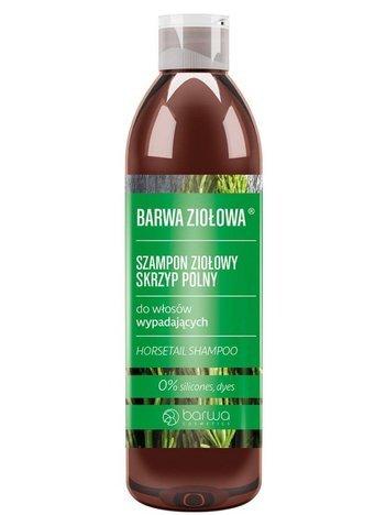 BARWA Ziołowa Szampon do włosów Skrzyp Polny - włosy cienkie i wypadające 250 ml