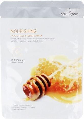 BEAUUGREEN Koreańska Maska odżywcza z mleczkiem pszczelim 23 g