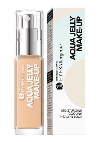 BELL HYPOAllergenic Podkład Nawilżająco-Matujący Aqua Jelly Make-Up 02