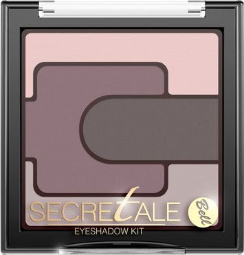 BELL Secretale Cienie Eyeshadow Kit 02