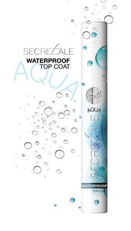 BELL Secretale Utrwalacz Tuszu Aqua Waterproof Top Coat 8g