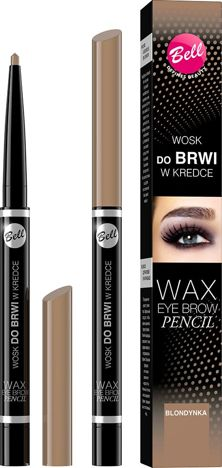 BELL Wosk do brwi w kredce 01 BLOND 12 ml