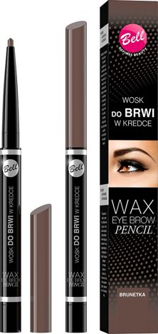 BELL Wosk do brwi w kredce 03 BRUNETKA 12 ml